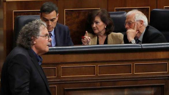 Los separatistas chantajean al Gobierno con los Presupuestos