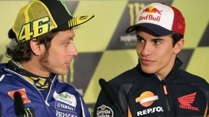 MotoGP. Marc Márquez analiza la temporada de 2019, con Lorenzo y Rossi en la mirada