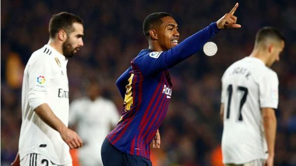 La mejoría del Madrid se queda corta ante un Barcelona sin Messi |1-1