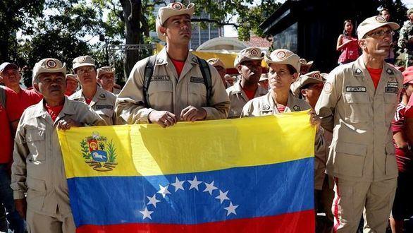 El chavismo proclama que usará la armas para defenderse