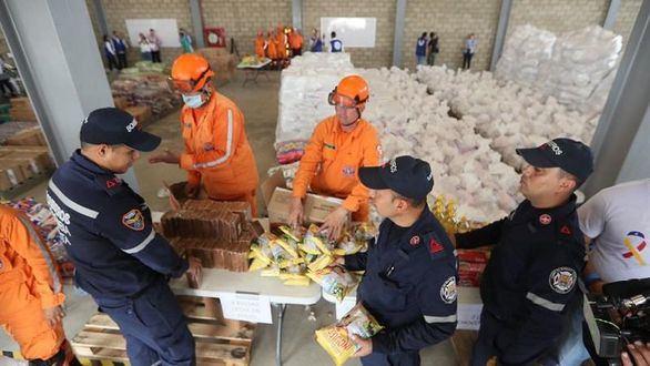 La Unión Europea, la ONU y la Cruz Roja afean que se politice la ayuda humanitaria a Venezuela