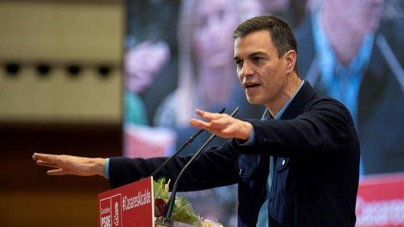 Sánchez acusa a la derecha de 'enfrentar a los españoles'