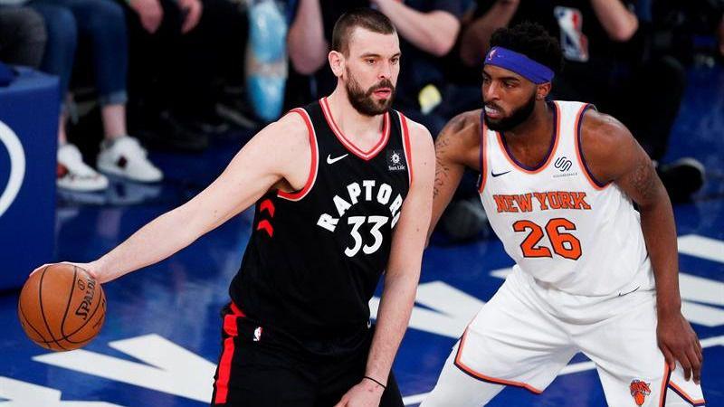 NBA. Marc Gasol debuta en los Raptors y Pau pide ser liberado de Popovich