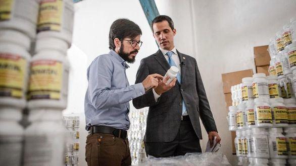 Guaidó confirma la recepción del primer cargamento con ayuda humanitaria