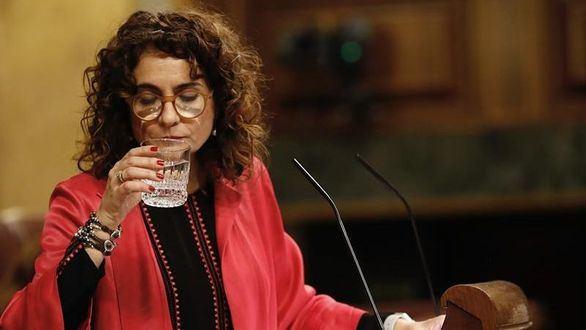 Montero da por perdida la votación de los PGE por el juicio al procés