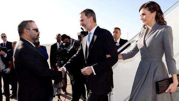 Los Reyes realizan la tercera visita de Estado a Marruecos en democracia