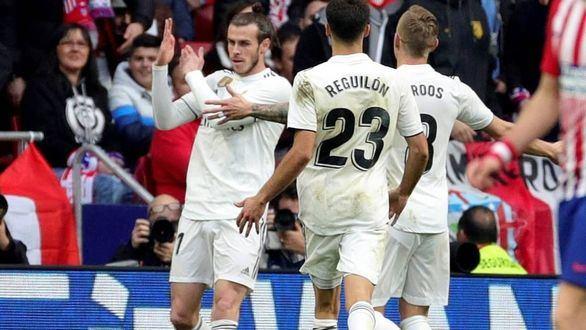 LaLiga denuncia a Bale por su corte de manga ante el Atlético de Madrid