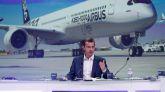 El presidente de la rama comercial de Airbus Guillaume Faury.