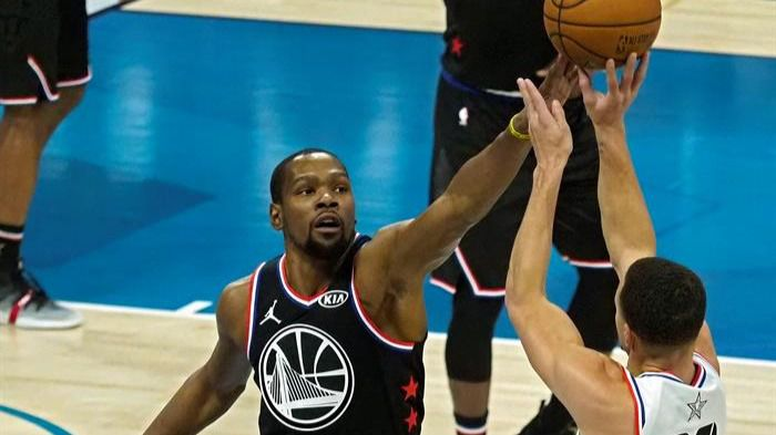 NBA. Durant se hace con el MVP y gana el All Star Game por LeBron