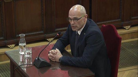 Romeva convierte en un discurso político su interrogatorio en el TS