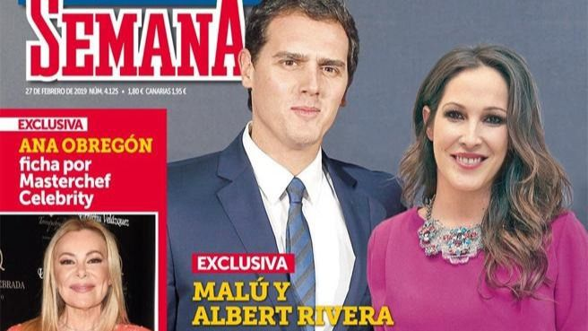 Albert Rivera y Malú son