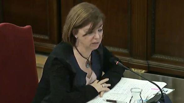 La exconsejera de Gobernación Meritxell Borrás.