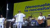 Miguel Bosé, en el concierto Venezuela Aid Live: 'Maduro, lárgate ya'