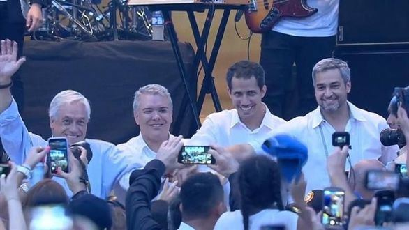 Guaidó asegura que entró en Colombia con ayuda del Ejército venezolano