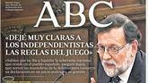 Así refleja la prensa la declaración de Rajoy en el juicio del procés