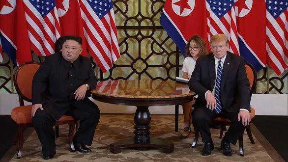 Trump y Kim terminan la cumbre de forma abrupta y sin ningún acuerdo