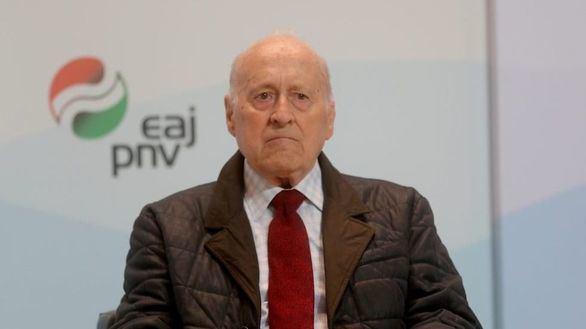 Muere Xabier Arzalluz, histórico presidente del PNV
