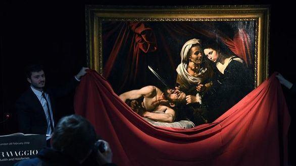 Londres expone el Caravaggio de 170 millones de dólares que sobrevivió a un robo