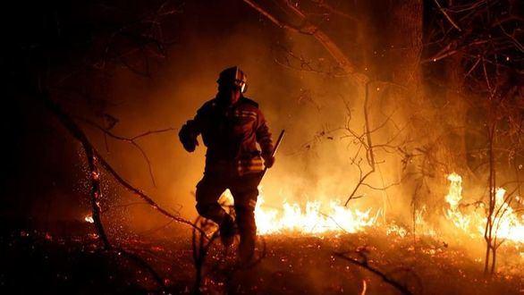 El norte de España, en llamas: 39 incendios en Asturias y 16 en Cantabria