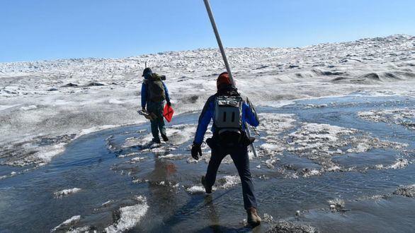 El acelerado deshielo de Groenlandia pone en duda las previsiones climáticas