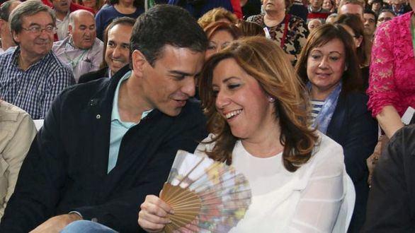 Estalla la guerra entre Sánchez y Díaz por las listas del 28-A en Andalucía