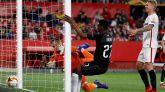 Liga Europa. El Sevilla pincha en casa y se jugará el pase en Praga  2-2
