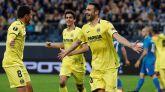 Liga Europa. El Villarreal luce su mejor cara en Europa  1-3
