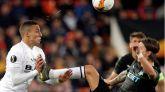 Liga Europa. Ventaja mínima para el Valencia antes de ir a Krasnodar  2-1