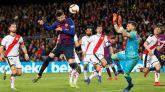 El Barcelona refuta lo hecho en el Bernabéu ante el Rayo   3-1
