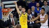 NBA. Asoman los Warriors en versión playoffs para meter miedo