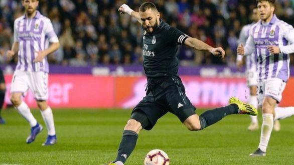 Los errores del Valladolid rescatan a Solari y al Real Madrid | 1-4