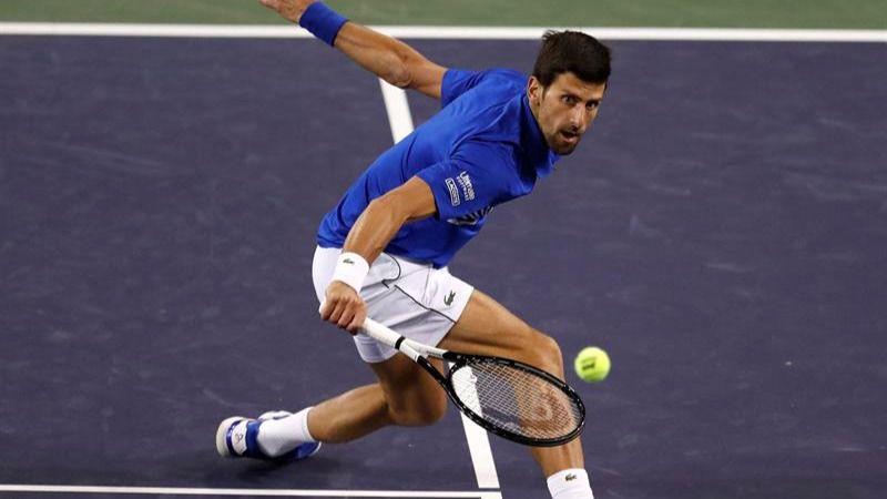 Indian Wells. Novak Djokovic abre fuego con personalidad y hambriento