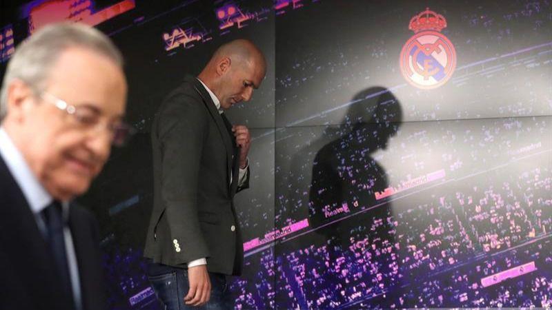 Florentino Pérez ficha a Zidane como revulsivo