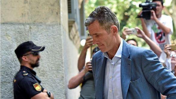 El TC no admite el recurso de Urdangarin contra su condena