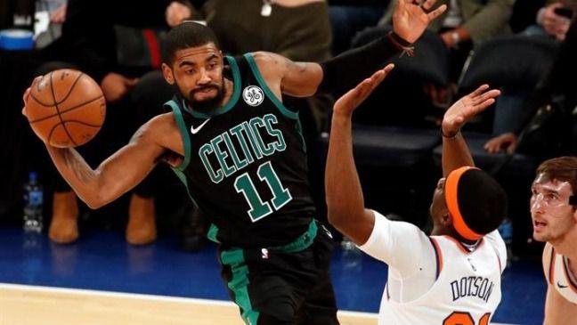 NBA. Irving cura la salud interna de los Celtics de cara a playoffs