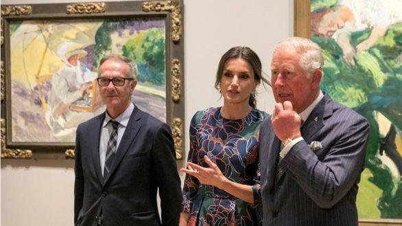 La Reina inaugura la mayor muestra dedicada a Sorolla en Londres en más de un siglo
