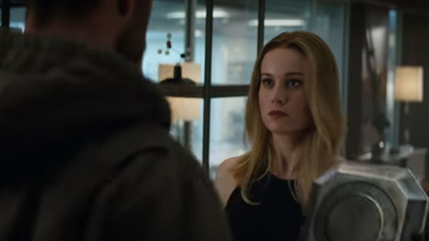 Capitana Marvel se une a Los Vengadores en Avengers: Endgame