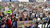La juventud mundial clama contra el calentamiento global y exige medidas ya