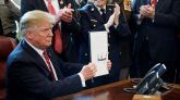 Trump veta la resolución del Congreso contra su emergencia nacional