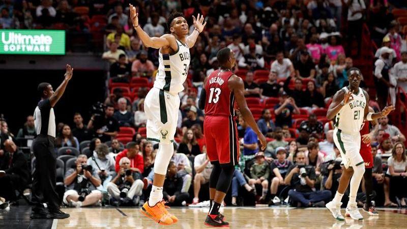 NBA. James Harden y Giannis Antetokounmpo aceleran hacia el MVP