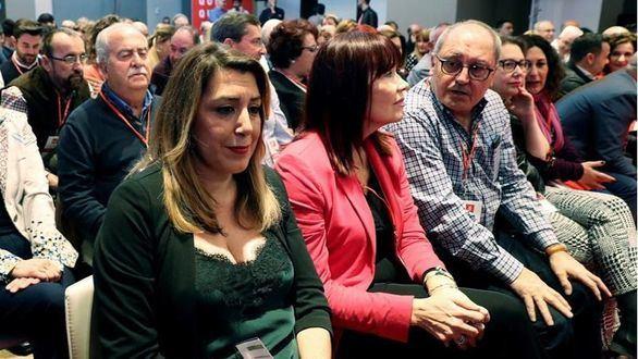 Díaz, indignada por el dedazo de Sánchez en las listas de las elecciones del 28A