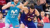 ACB. El Barcelona aguanta la presión del Real Madrid en la cima