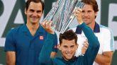 Indian Wells. Thiem inaugura su leyenda ante Federer