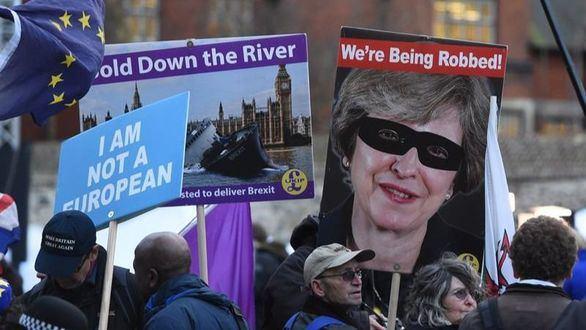 May pide a la UE una prórroga del brexit hasta el 30 de junio