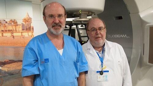Los doctores Julio Martí y Manel Algara