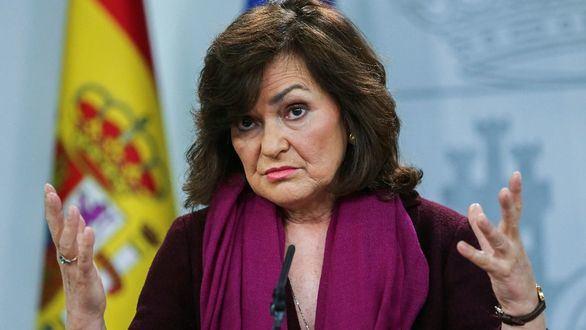 Calvo, apercibida por la JEC por el mal uso del Twitter de Presidencia