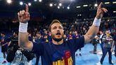 Asobal. El Barcelona, campeón de Liga por novena vez seguida