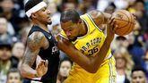 NBA. Durant 'traga' la muerte de un amigo y sus Warriors atemorizan