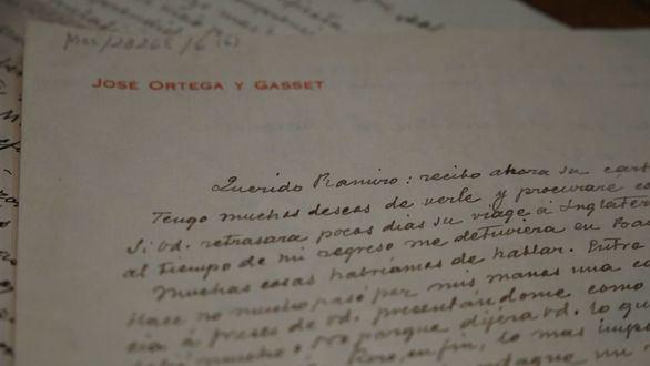 El epistolario inédito de Ortega a Ramiro de Maeztu llega a la Biblioteca Nacional
