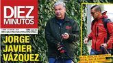 Jorge Javier Vázquez tras el ictus: paseos con su perro en compañía de su ex